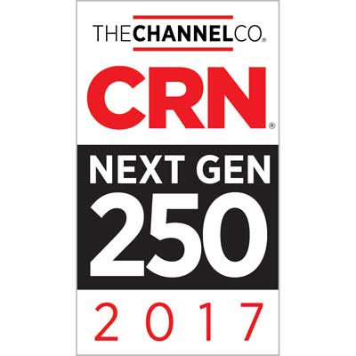 Aponia Data Recognized on 2017 CRN Next-Gen 250 List