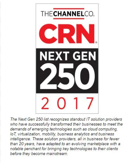 Aponia Data Makes THECHANNEL CO.'s CRN's Next-Gen 250 List